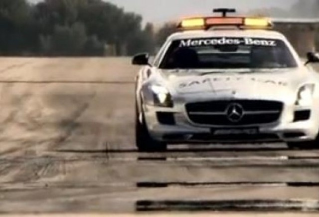 VIDEO: Mercedes SLS AMG F1 Safety Car