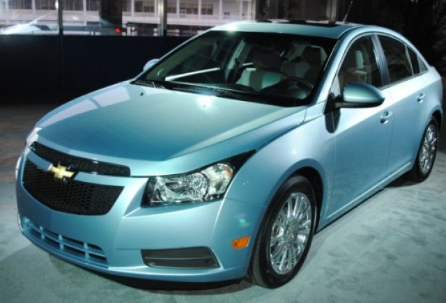 Noul Chevrolet Cruze Eco va avea un consum de 6 litri