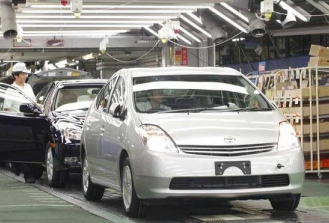 Toyota a crescut productia cu 83% in februarie