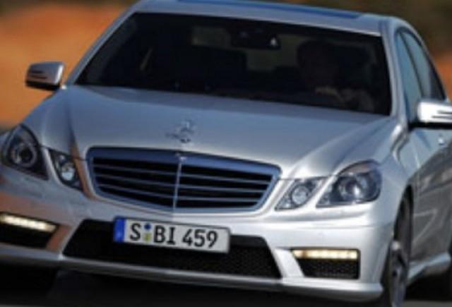 ZVON: Mercedes pregateste un E65 AMG de 600 CP