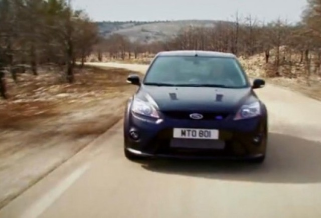 VIDEO: Noul Ford Focus RS500 in actiune