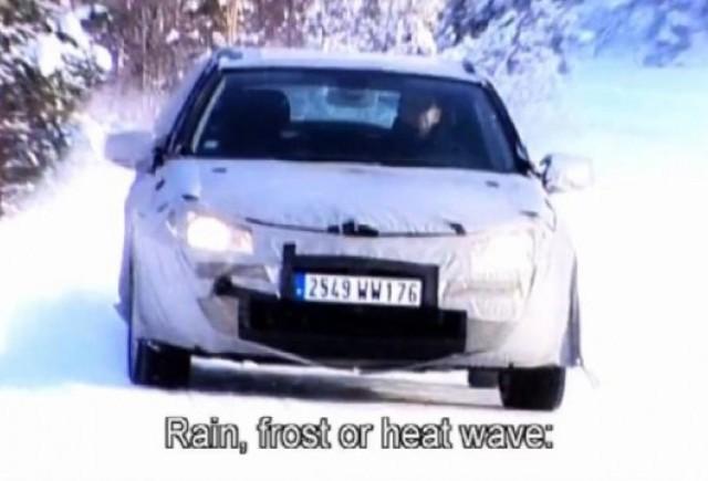 VIDEO: Conditiile aprige in care sunt testate noile modele Renault