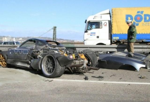 Prototipul Pagani C9 a fost distrus in Germania
