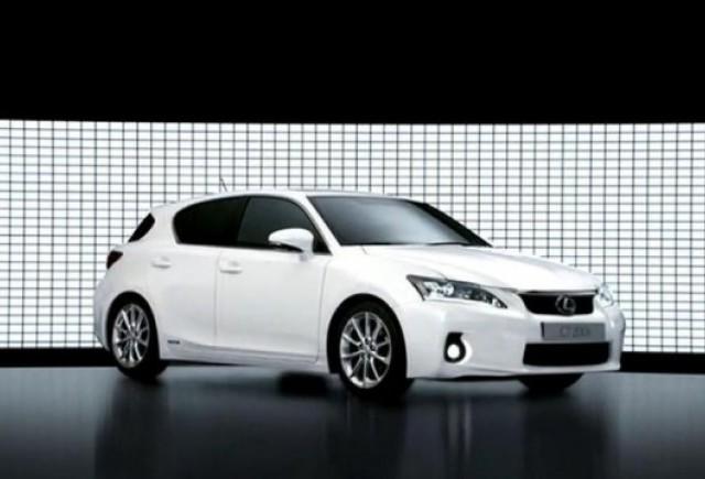 VIDEO: Primul spot publicitar al noului Lexus CT 200h