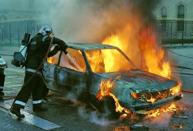 Ce facem in cazul incendiilor din masina