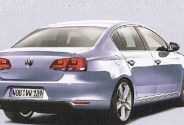 ZVON: Volkswagen ar putea lansa la Paris noul Passat