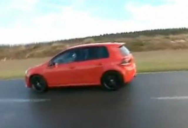 VIDEO: Golf R isi intalneste rivalii