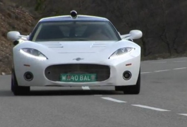 VIDEO: Spyker 8C Aileron in actiune