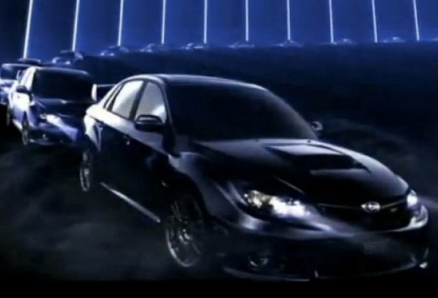 VIDEO: Primul promo cu Subaru Impreza STI sedan
