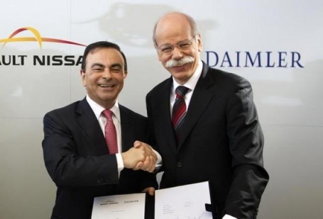 Parteneriatul Renault-Nissan - Daimler aduce economii de 4 miliarde euro