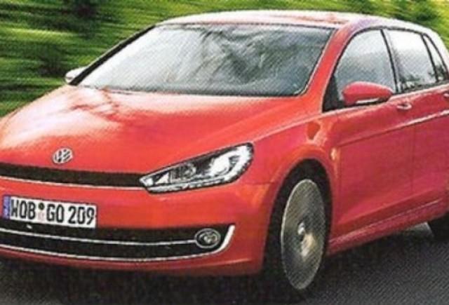 ZVON: Volkswagen pregateste noul Golf 7 pentru 2012