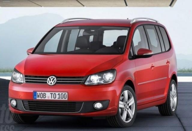 Iata noul Volkswagen Touran!