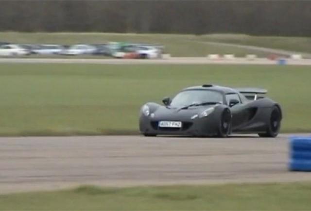 VIDEO: Hennessey Venom GT a fost testat pe circuit