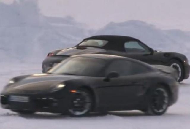 VIDEO: Noul Porsche Boxter roadster a fost spionat