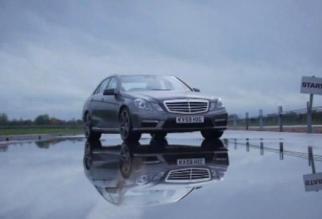 VIDEO: Mercedes E63 AMG in actiune