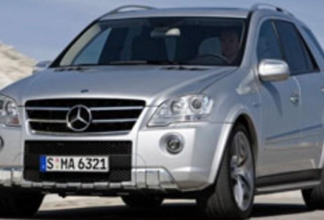Detalii despre noul Mercedes ML63 AMG
