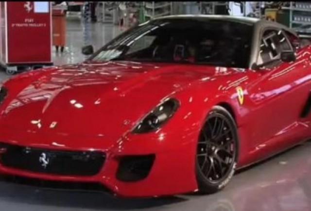 VIDEO: CEO-ul Amedeo Felisa prezinta noul Ferrari 599 GTO
