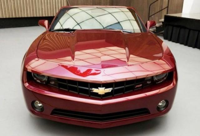 Iata primele imagini cu Chevrolet Camaro Cabrio!
