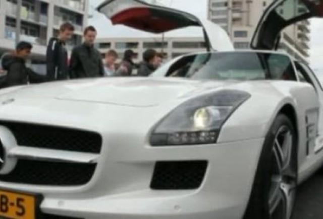 VIDEO: Cum se aude motorul lui Mercedes SLS AMG