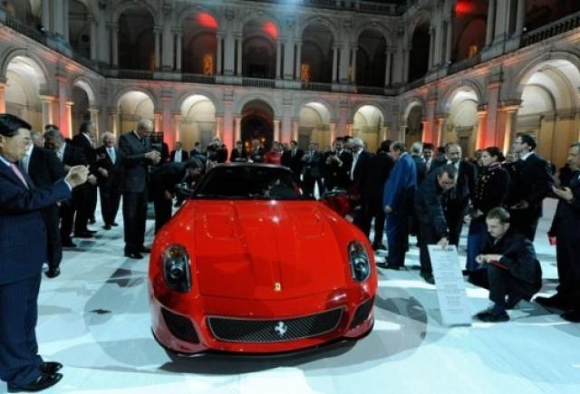 Vanzari lichidate la noul Ferrari 599 GTO