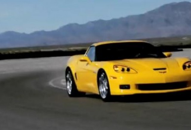 VIDEO: La volanul lui Corvette Grand Sport