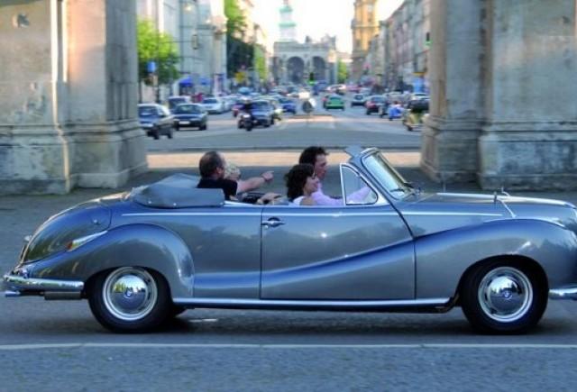 BMW ofera un tur al orasului Munchen in modelele sale clasice