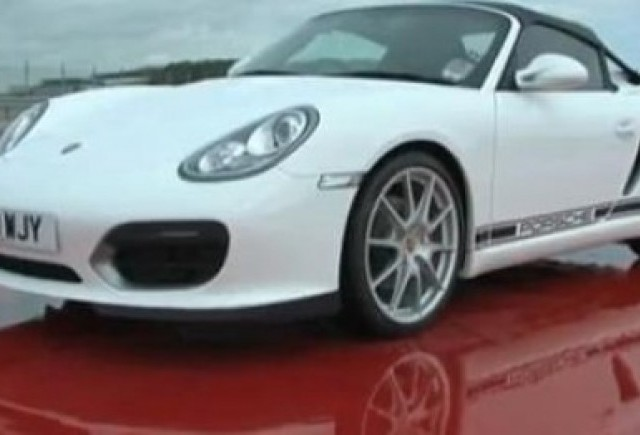VIDEO: Fifth Gear testeaza Porsche Boxster Spyder