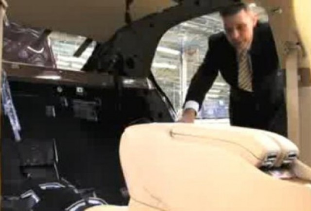 VIDEO: Cum ia nastere Bentley Mulsanne