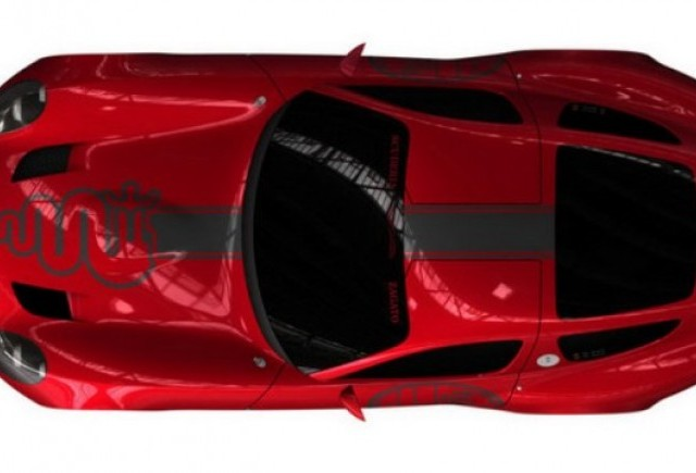 Teaser Zagato Alfa Romeo TZ3 Corsa