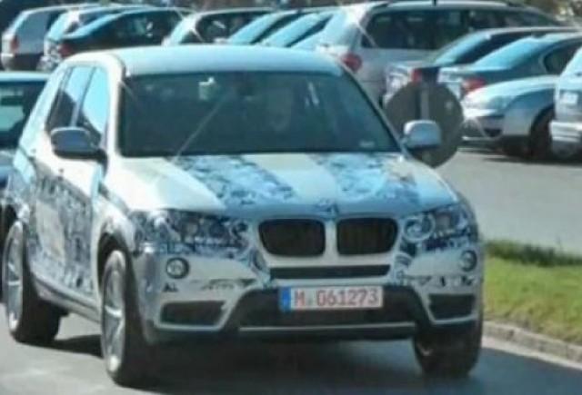 VIDEO: BMW X3 spionat