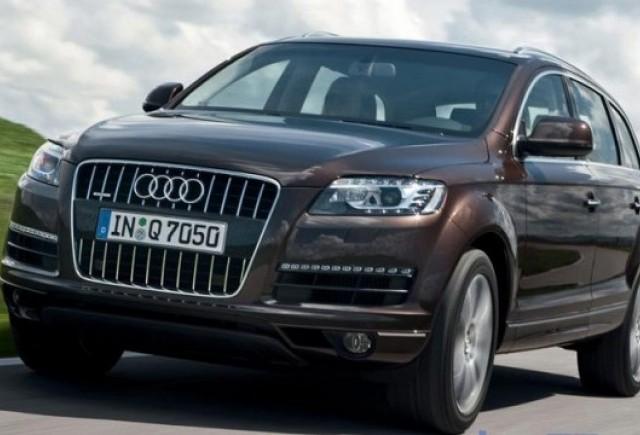 Audi schimba motoarele in gama lui Q7