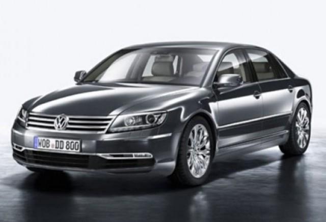 Primele imagini cu noul Volkswagen Phaeton!