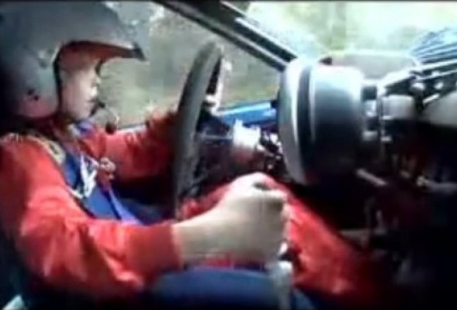 VIDEO: Un copil de 8 ani ar putea fi viitorul Marcus Gronholm