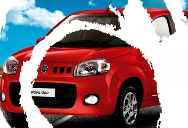 Iata noul Fiat Uno!