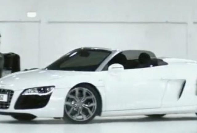 VIDEO: Frumoasa si bestiile, promo la Audi R8 Spyder