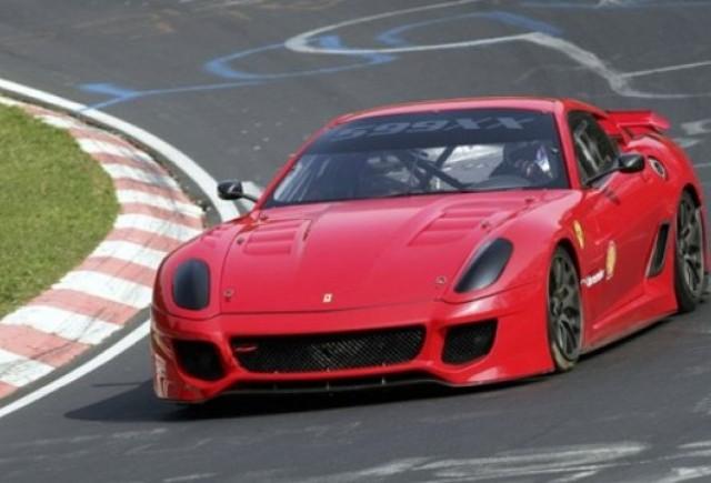 Ferrari 599XX a inregistrat un nou record de viteza la Nurburgring