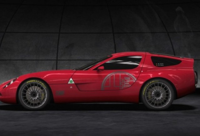 Alfa Romeo TZ3 Corsa a fost prezentata la Villa D'Este