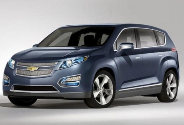 Chevrolet a prezentat conceptul Volt MPV5