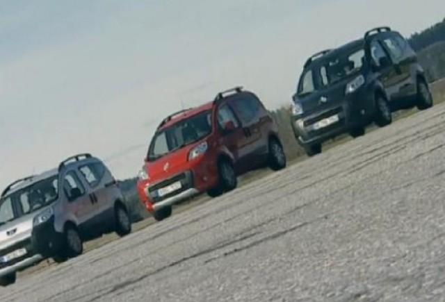 VIDEO: ADAC testeaza modelele Citroen Nemo, Peugeot Biper si Fiat Qubo