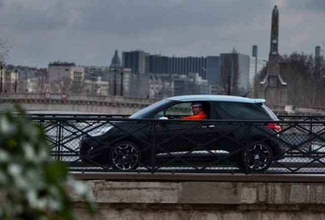 Cabral a testat noul Citroen DS3 in Paris