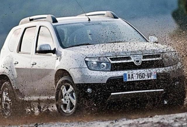 Dacia Duster debuteaza in Marea Britanie in 2012