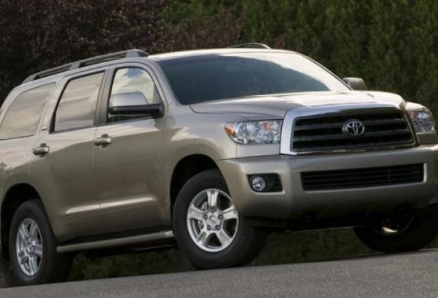 Recall Toyota de 50.000 Sequoia in SUA