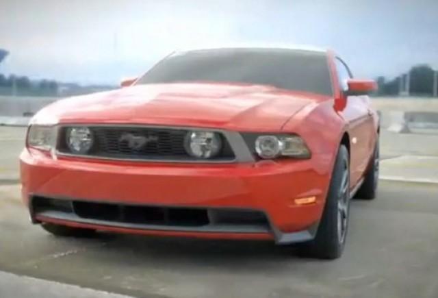 VIDEO: Ford prezinta noul Mustang GT