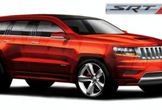 ZVON: Chrysler ar putea lansa un Jeep Grand Cherokee SRT8 de 525 CP