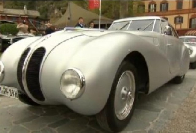 VIDEO: BMW 328 Kamm Coupe la Concorso d'Eleganza Villa d'Este 2010
