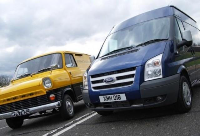 Ford Transit a ajuns la 6 milioane unitati produse