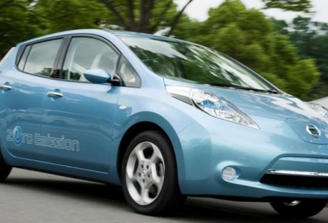 Nissan va face profit cu modelul electric Leaf