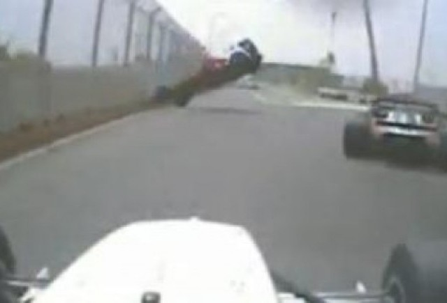 VIDEO: Accident spectaculos in Formula 2
