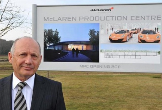 McLaren construieste o noua fabrica