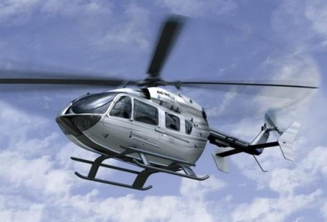Design Mercedes pentru cockpit-ul unuiinterior de elicopter